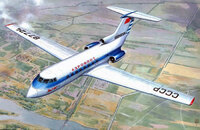Як-40 ранний Аэрофлот СССР - Mars Models 72101 1:72