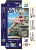 «Пин-Ап» Саманта  - набор № 6.MB24006 Master Box 1:24