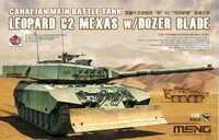 Leopard C2 Mexas канадский танк с бульдозерным отвалом - TS-041 Meng 1:35