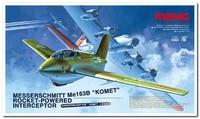 """Ме-163B """"Комета"""" ракетный перехватчик (Messerschmitt Ме.163 B Komet). QS-001 Meng 1:32"""