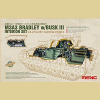 Интерьер для M3A3 Bradley BUSK III. SPS-017 Meng 1:35