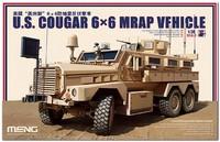 «Кугар» бронемашина 6х6 с противоминной защитой (Cougar HE MRAP IMV). SS-005 Meng 1:35