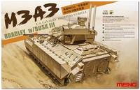 М3А3 «Брэдли» БМП с BUSK 3 (M3A3 Bradley CFV w/BUSK III). SS-006 Meng 1:35