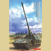 Panzerhaubitze 2000 самоходная гаубица. TS-012 Meng 1:35
