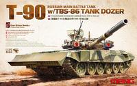 Т-90А ОБТ с ТБС-86. TS-014 Meng 1:35