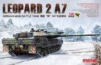 «Леопард-2» А7 ОБТ (Leopard 2 A7 MBT). TS-027 Meng 1:35