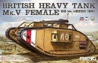Mk.V «Самка» тяжелый танк. TS-029 Meng 1:35