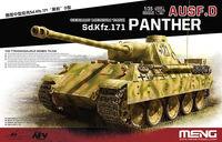 Pz Kpfw V Ausf D «Пантера» средний танк. TS-038 Meng 1:35