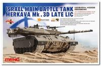 «Меркава» Мк.3Д ОБТ с LIC-комплектом (MERKAVA Mk.3D w/LIC kit MBT). TS-025 Meng 1:35