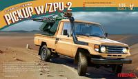 Пикап с ЗПУ-2 Тойота-тачанка - VS-005 Meng 1:35