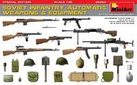 Советское пехотное автоматическое оружие и амуниция. 35268 MiniArt 1:35