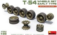 Т-54 катки раннего типа. 37054 MiniArt 1:35