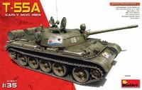 Т-55А обр. 1965  средний танк. 37057 MiniArt 1:35