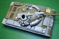 T-55AM конверсионный набор с точеным стволом и фототравлением. B35058 Miniarm 1:35