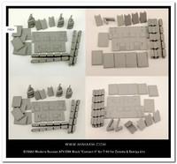 ДЗ «Контакт-5» комплект для T-90 : Т-72БА : Т-72Б3. B35065 Miniarm 1:35