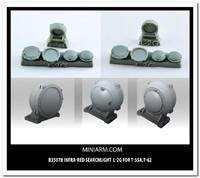 Л-2Г ИК-прожектор для Т-10М :: Т-55А :: Т-62. B35078 Miniarm 1:35