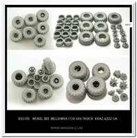 KрАЗ-6322 набор колес «Белшина». B35105 Miniarm 1:35