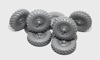 Урал- 4320 набор колес ОИ-25 Омскшина 7 шт. B35049 Miniarm 1:35
