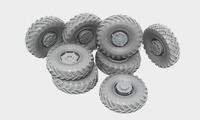 БТР-60П набор раниих колес 8 шт. B35061 Miniarm 1:35