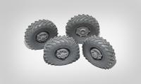 БРДМ-1 набор колес  4 шт. B35062 Miniarm 1:35