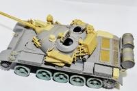 Т-55АД конверсионный набор с фототравлением и точеным стволом. B35148 Miniarm 1:35