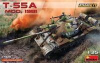 Т-55А обр. 1981 средний танк - 37020 Miniart 1:35