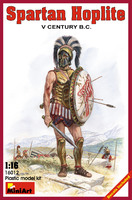 Спартанский гоплит V век до н.э. 16012 MiniArt 1:16