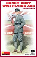 Эрнст Удет немецкий лётчик-ас Первой мировой войны. 16030 MiniArt 1:16