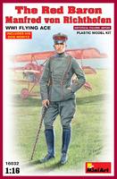 «Красный барон» Манфред фон Рихтгофен летчик-ас Первой мировой войны. 16032 MiniArt 1:16