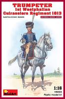 Трубач 1-го Вестфальского кирасирского полка 1813. 16033 MiniArt 1:16