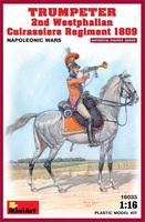 Трубач 2-го Вестфальского кирасирского полка 1809. 16035 MiniArt 1:16