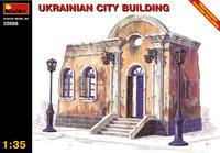 Украинское городское здание. 35006 MiniArt 1:35