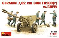 FK 288 (r) 76.2-см пушка с расчетом (ЗиС-3). 35033 MiniArt 1:35