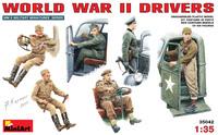 Водители Второй мировой войны. 35042 MiniArt 1:35