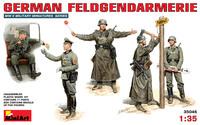 Немецкая полевая жандармерия (5 фигурок) - 35046 Miniart 1:35
