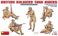 Британские солдаты. 35071 MiniArt 1:35
