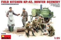 КП-42 полевая кухня зима. 35098 MiniArt 1:35
