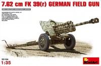 7,62 см FK 39 (r) полевая пушка . 35104 MiniArt 1:35