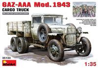 ГАЗ-ААА обр. 1943 грузовой автомобиль. Сборная модель в масштабе 1:35 <35133 MA>