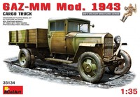 ГАЗ-ММ грузовой автомобиль обр. 1943. 35134 MiniArt 1:35