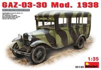 ГАЗ-03-30 штабной автобус обр. 1938 . 35149 MiniArt 1:35