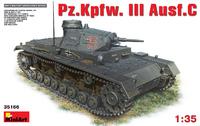 Pz.Kpfw.III Ausf. C средний танк . 35166 Miniart 1:35
