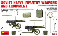 Советское тяжелое пехотное оружие и амуниция. 35170 MiniArt 1:35