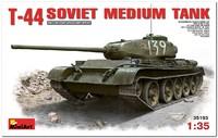 Т-44 средний танк с интерьером. 35193 MiniArt 1:35