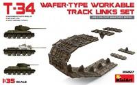 Т-34-85 подвижные траки. 35207 MiniArt 1:35