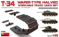 Т-34 подвижные траки. 35216 MiniArt 1:35
