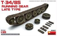 Т-34-85 катки и траки позднего типа. 35227 MiniArt 1:35