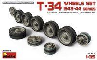Т-34 Набор катков танков 1943-44 г. выпуска. 35242 MiniArt 1:35