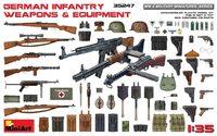 Немецкое пехотное оружие и снаряжение. 35247 MiniArt 1:35
