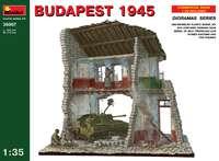 «Будапешт 1945» диорама (здание - СУ-76 - экипаж) . 36007 MiniArt 1:35